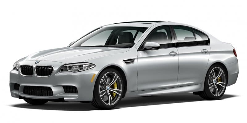 BMW M5 Pure Metal Silver Limited Edition Revealed