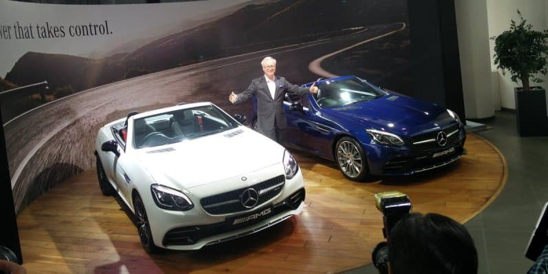 Mercedes-AMG SLC 43 Launched at Rs. 77.50 Lakhs