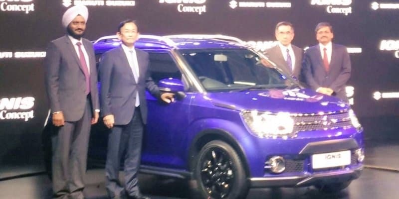 Maruti Ignis Launch Delayed to 2017