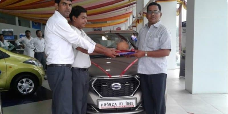 Datsun Delivers 500 Units of redi-GO in Haryana