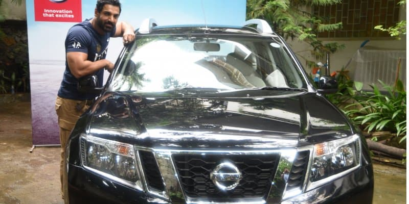 John Abraham Becomes Proud Owner of Nissan Terrano