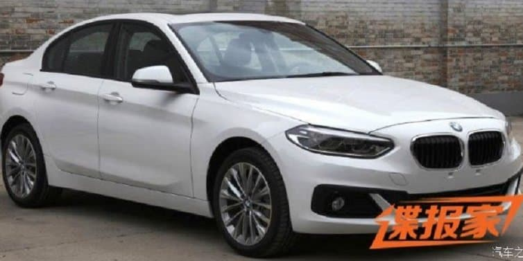 BMW compact sedan spotted in China