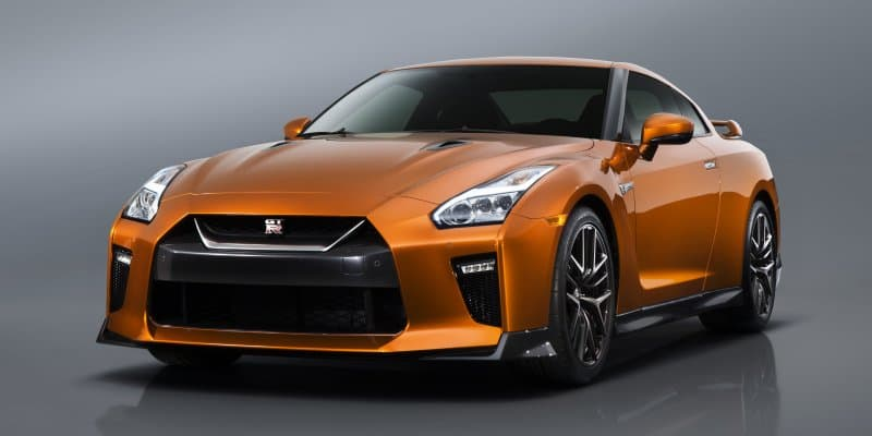Nissan GT-R imported into India