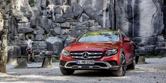 Revealed - Mercedes-Benz E-Class All-Terrain All-Wheel Drive unveiled