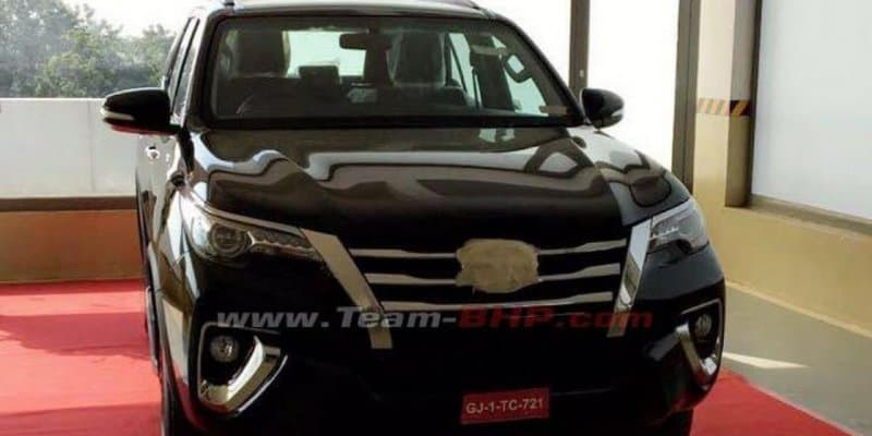 Toyota India to launch new Fortuner on 7th November