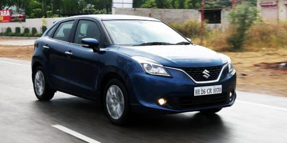 Maruti Suzuki Baleno Marked One lakh unit Sales in India