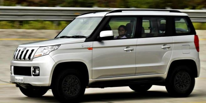 Mahindra TUV300 new dual tone colour variant launched