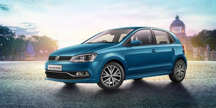 Volkswagen Polo AllStar unveils in India