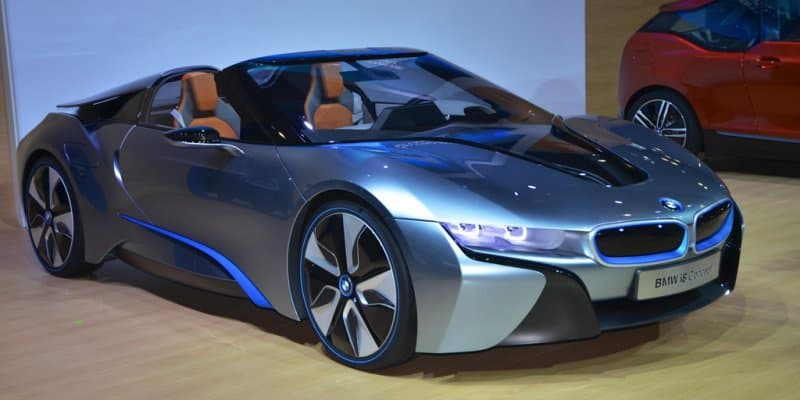 BMW i8 Roadster Coming in 2018
