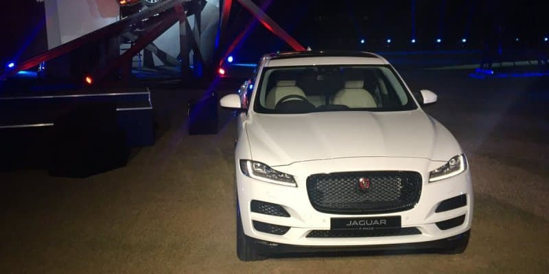 Jaguar F-PACE Officially Launched at Rs. 68.40 Lakhs
