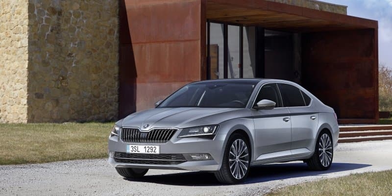 Skoda Superb Celebrates 15th Anniversary