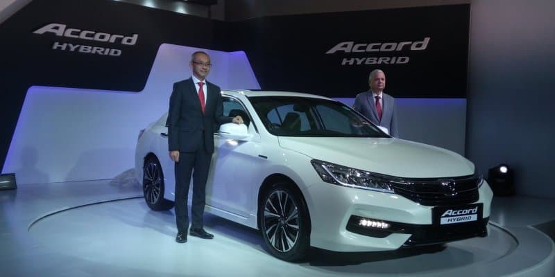 Honda Accord Hybrid launched at Rs 37 lakh