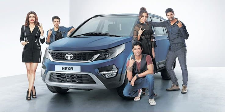Tata Hexa to Feature in Rock On 2