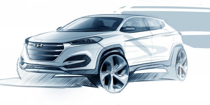 Hyundai showcases the Design Expressions of New Tucson