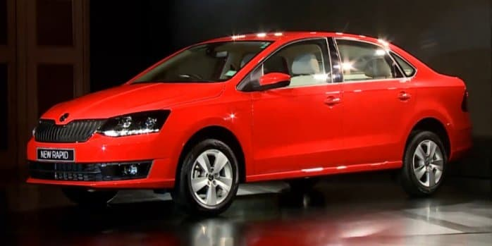 Skoda Rapid Facelift launched at Rs 8.34 lakh