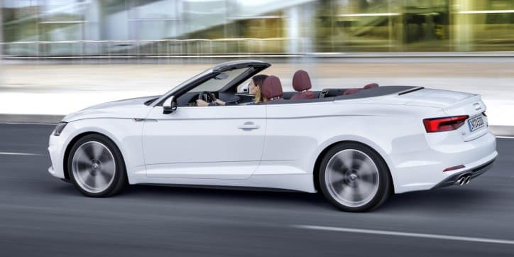 Audi unveils the A5 Cabriolet ahead of the LA Motor Show