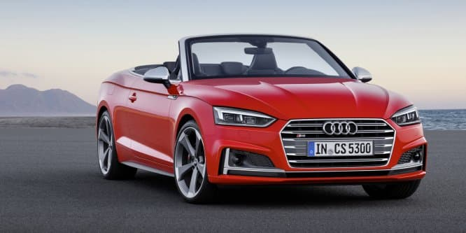 MY 2017 Audi A5 and S5 Cabriolet revealed