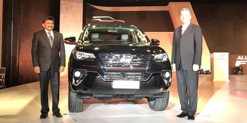 2016 Toyota Fortuner Launched at Rs. 25.92 Lakhs