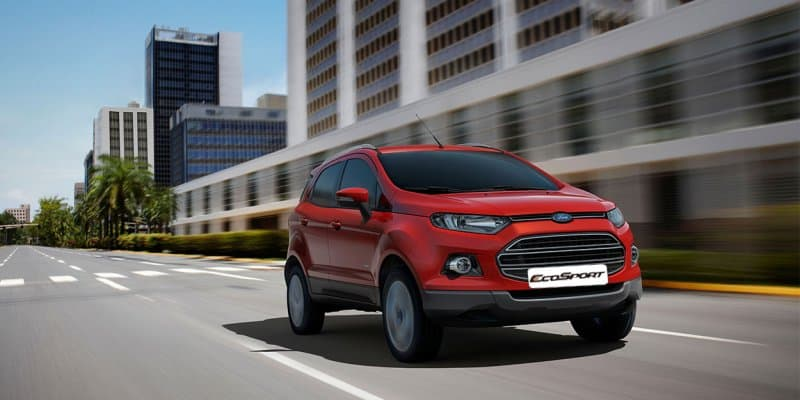 Dual Front Airbags Now a Standard Feature on Ford EcoSport