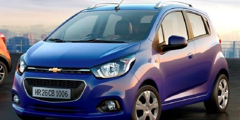 2017 Chevrolet Beat spotted in new spy shots revealing more details