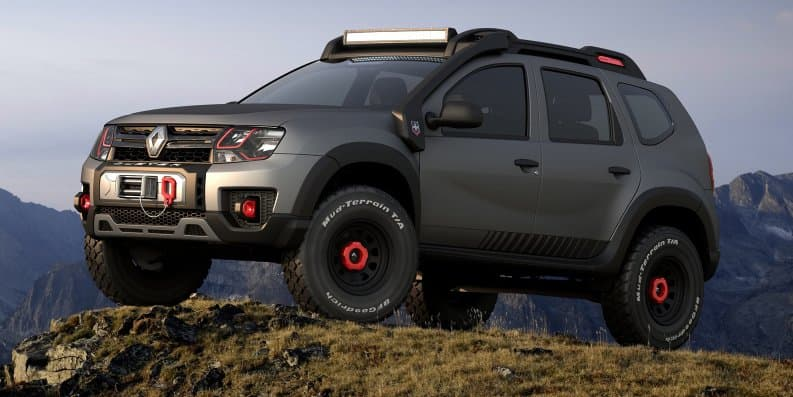 Renault Duster Extreme Off-Roading Concept showcased at Sao Paulo