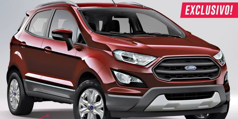 2017 Ford EcoSport World Premiere on November 14, 2016 in USA