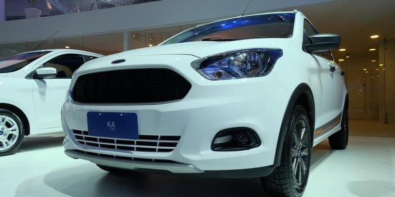 Ford Figo Cross launched as Ka Trail at Sao Paulo