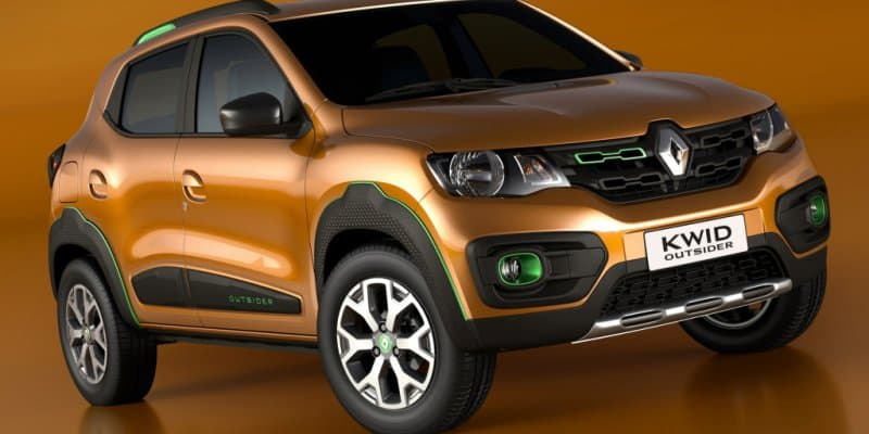 Renault Kwid Outsider Concept Showcased at 2016 Sao Paulo Auto Show