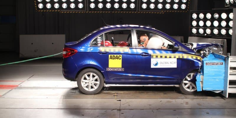 Video - Tata Zest Gets 4-Star Safety Rating by Euro NCAP