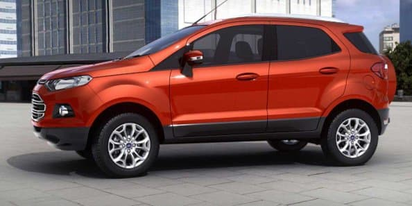 Ford Ecosport is the first made in India car to be exported to US