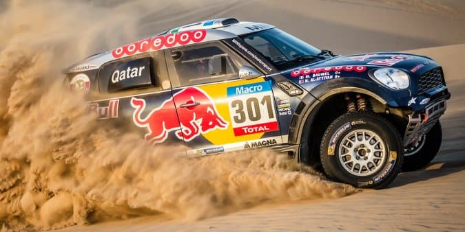 Mini unveils all new JCW for 2017 Dakar Rally