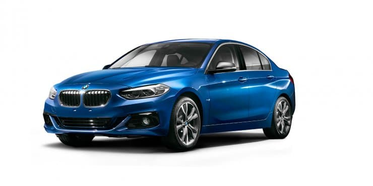 Unveiled - BMW 1-Series sedan revealed at 2016 Guangzhou Auto Show
