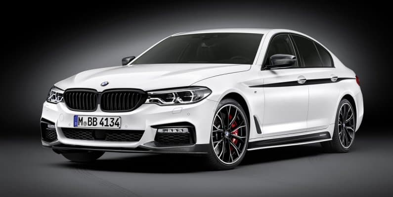 BMW unveils 2017 5-series with M-Performance package