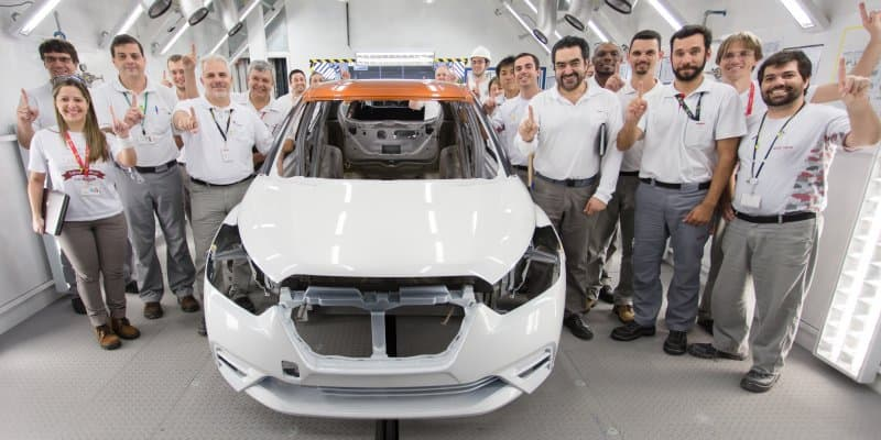 Dual-Tone Nissan Kicks Trial Production Starts