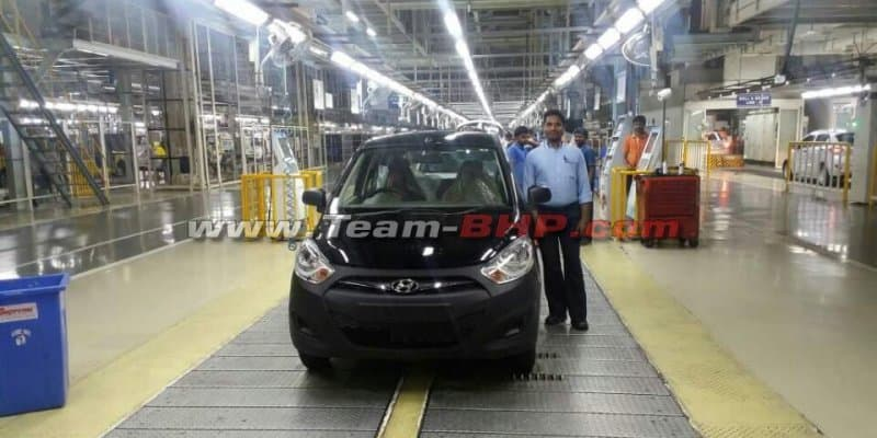 Hyundai i10 Production Halted
