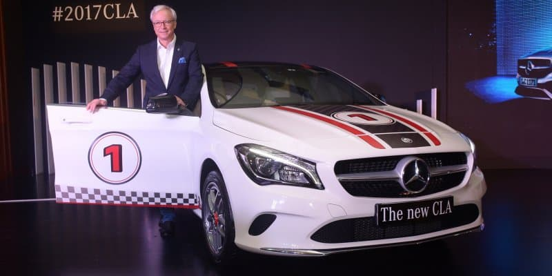 2017 Mercedes Benz CLA Launched at Rs. 31.40 Lakhs