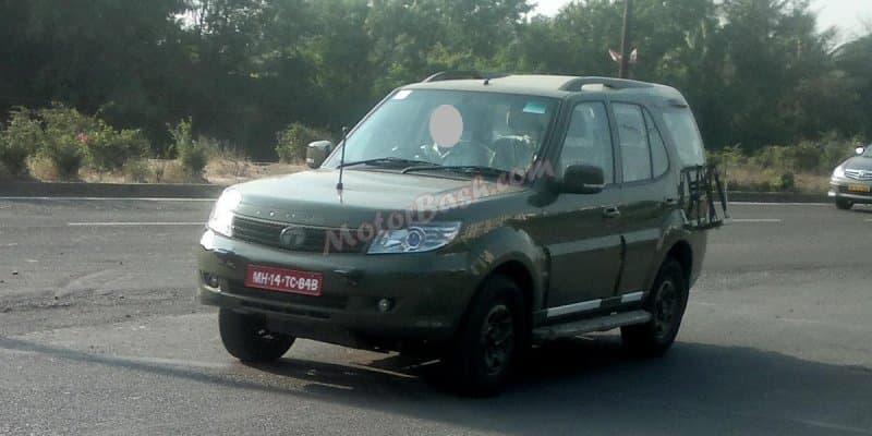 Tata Safari Storme to be the Official Army Vehicle from 2017