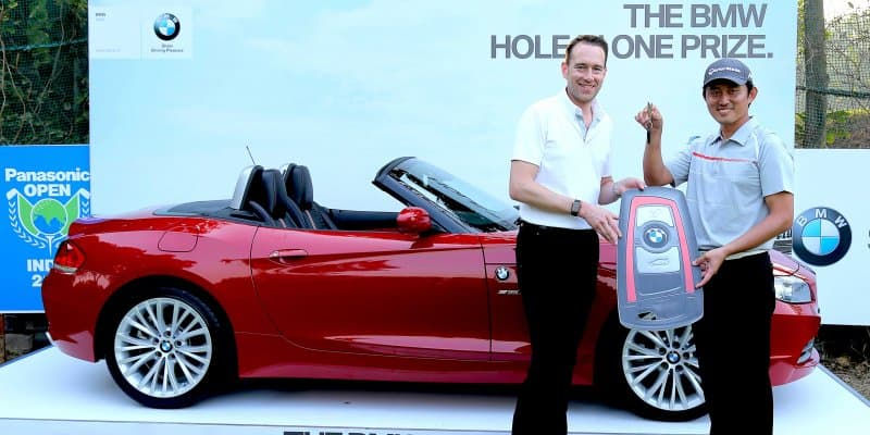 BMW Z4 Awarded to South Korean Golfer Sung Lee