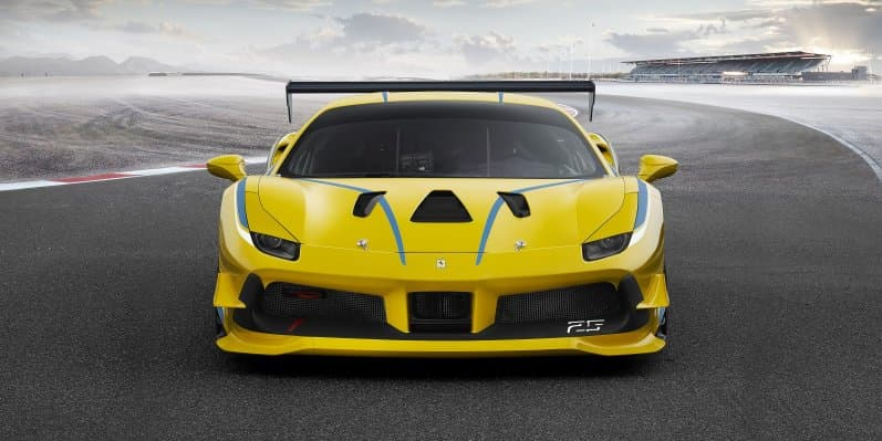 Ferrari 488 Challenge unveiled in Daytona is the most powerful Ferrari ever