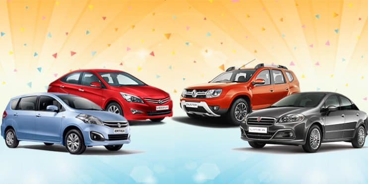 Current Offers and Discounts on Maruti, Hyundai, Fiat & Renault Cars – December 2016