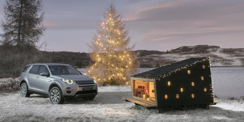 Land Rover Creates Cosy Cabin for Two Adults