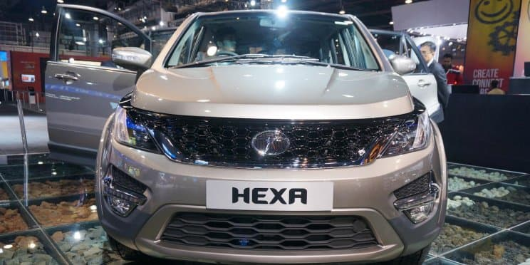 Tata Hexa to be sold via regular dealerships