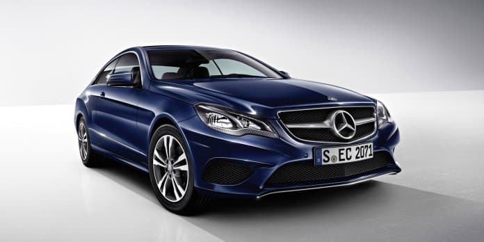 Brochure of the Mercedes Benz E Class Coupe leaked