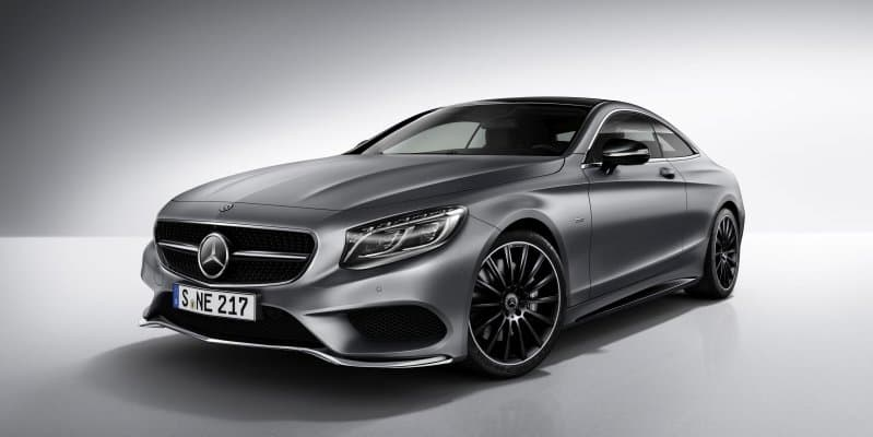 Mercedes-Benz S-Class Coupe 'Night Edition' unveiled