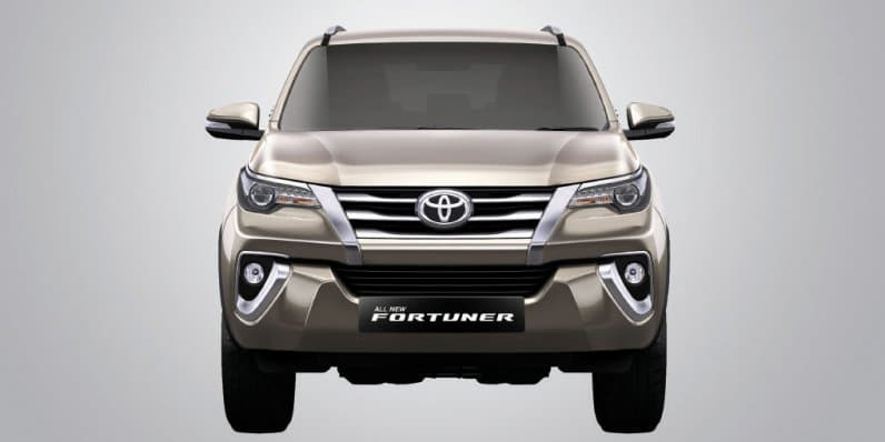 Toyota Fortuner Sales Touch 1 Lakh Milestone in India