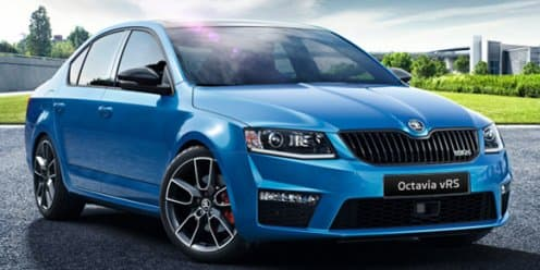 Skoda Octavia vRS facelift revealed, expected to launch in April 2017
