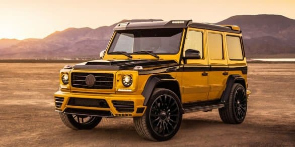 Mansory beefs up Mercedes G-Class with wide body and 840 horses