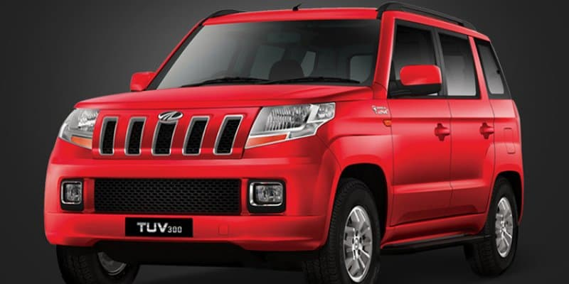 New Mahindra TUV 300 with longer wheelbase spotted in complete camouflage