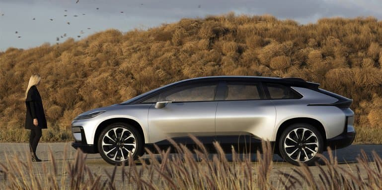 Video - Faraday Future reveals FF91 prototype at CES 2017