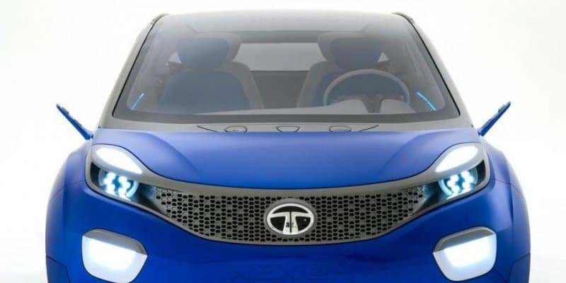 Tata Nexon with pop-up touchscreen infotainment system spied